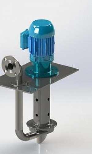Bomba centrifuga vertical