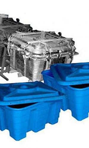 Distribuidor de moldes para rotomoldagem