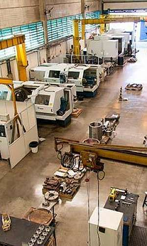 Empresas de usinagem industrial de peças