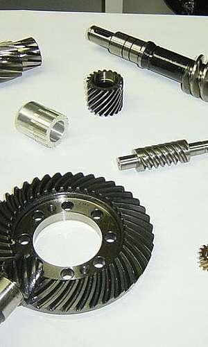 Engrenagem industrial sob encomenda