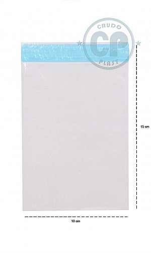 Envelope plástico lacre