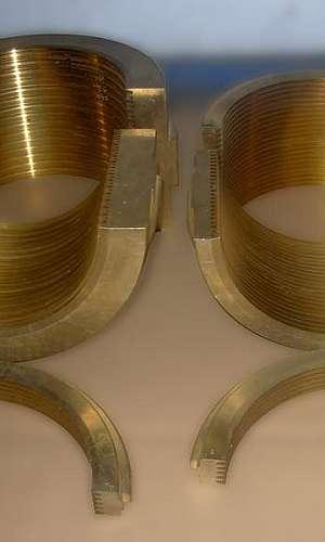 Fundição de bronze centrifugado