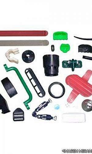 Industria de injeção de peças plástica