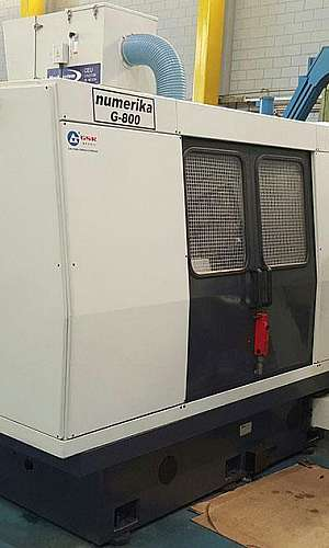 Manutenção em máquinas cnc