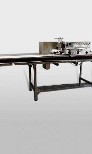 Máquina de cortar pão de alho