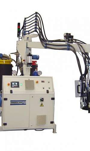 Máquina injeção de PU