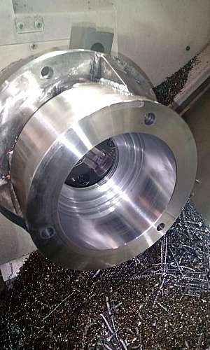 Serviços de usinagem de metais