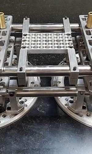 Usinagem de cavidades e moldes protótipos