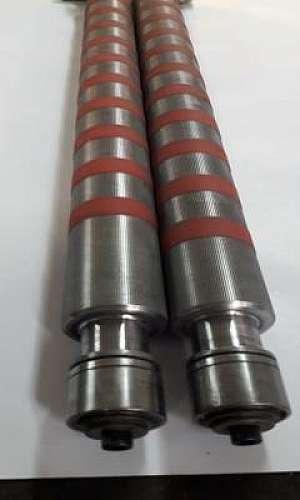 Usinagem de cilindros para dobradeiras
