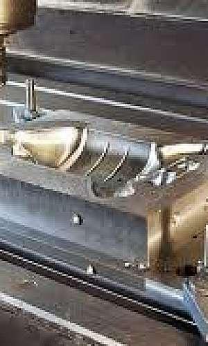 usinagem de moldes para injeção