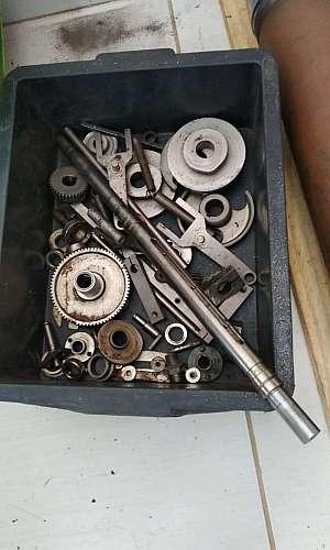 Usinagem de peças pequenas